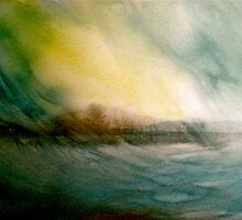 Seascape...Squall by © Janis Zroback