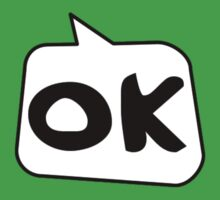 OK by Bubble-Tees.com Baby Tee