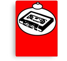RETRO TAPE CASSETTE by Bubble-Tees.com Canvas Print