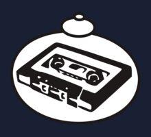 RETRO TAPE CASSETTE by Bubble-Tees.com One Piece - Short Sleeve