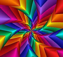 Pinwheel Flower 2 by Julie Everhart