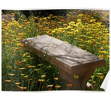 Come Sit Among the Daisies Poster