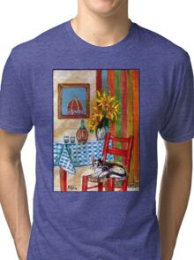 ITALIAN KITCHEN IN FLORENCE Tri-blend T-Shirt