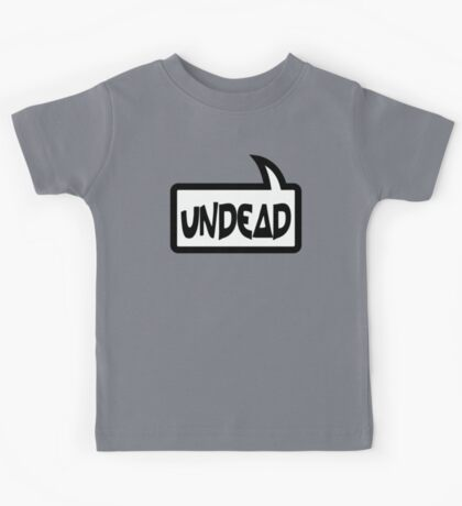 UNDEAD by Bubble-Tees.com Kids Tee