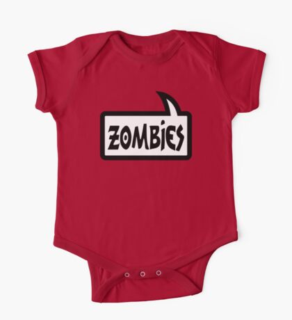 ZOMBIES by Bubble-Tees.com One Piece - Short Sleeve