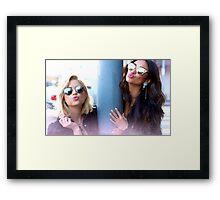 Shay and Ashley Framed Print