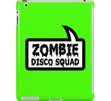 ZOMBIE DISCO SQUAD by Bubble-Tees.com iPad Case/Skin