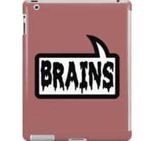 BRAINS by Bubble-Tees.com iPad Case/Skin