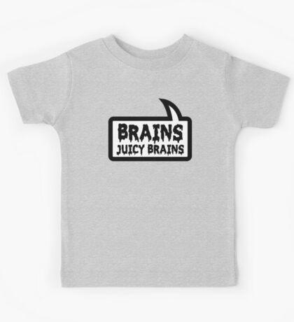 BRAINS JUICY BRAINS by Bubble-Tees.com Kids Tee