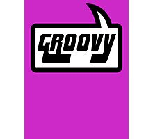 GROOVY by Bubble-Tees.com Photographic Print