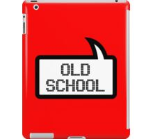 OLD SCHOOL by Bubble-Tees.com iPad Case/Skin