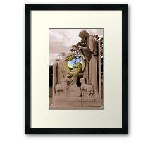 ~ Light of The World ~ Framed Print