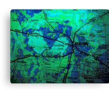 maps ...  Canvas Print