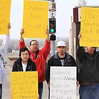 Protest in Pierre by Kate Purdy