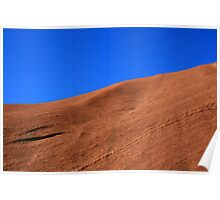 Red Earth Skyscape Poster
