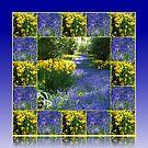 Keukenhof Gardens - Flower Lane Collage by BlueMoonRose