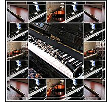 Musical Reflections Photographic Print