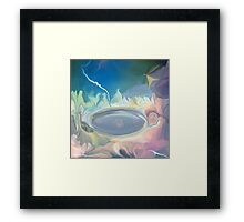 JUST A DREAM - Abstract 34 Art + Products Design  Framed Print