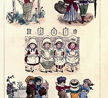 The Little Folks Painting book by George Weatherly and Kate Greenaway 0151 by wetdryvac