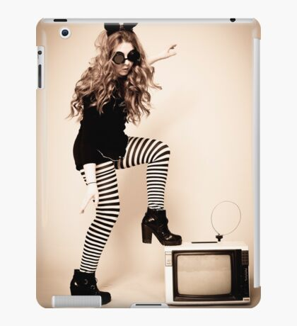 Vintage TV iPad Case/Skin