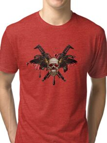 Skull Shirt Tri-blend T-Shirt