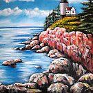 Acadia Nat'l Park by Pamela Plante