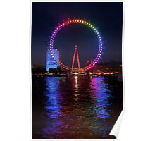 Pride of London - London Eye Poster
