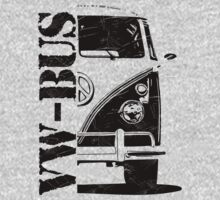 vw bus by hottehue