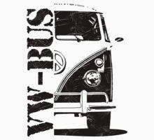 vw bus One Piece - Long Sleeve