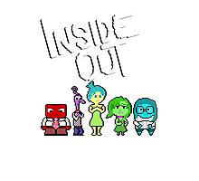 8-Bit Inside Out Photographic Print