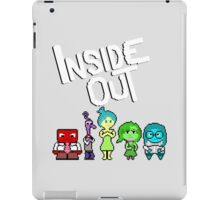 8-Bit Inside Out iPad Case/Skin