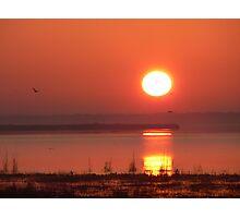 Lake Jessup Sunrise 1 Photographic Print
