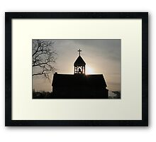 Faith through the Light Framed Print