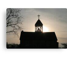 Faith through the Light Canvas Print