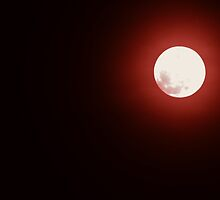 A Blood Moon  by Bob Sample
