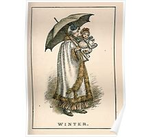 Kate Greenaway Almanack 1893 0037 Winter Poster