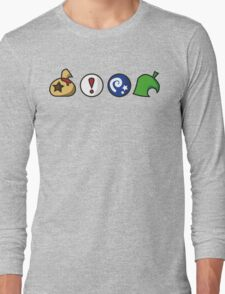 Animal Crossing Items (in many colours!) Long Sleeve T-Shirt