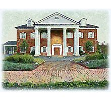 Colonial Revival Style Photographic Print