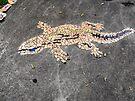 Gecko Mosaic by Matthew Walmsley-Sims