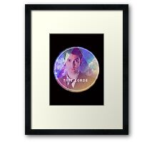 Doctor Who Time Lord Framed Print