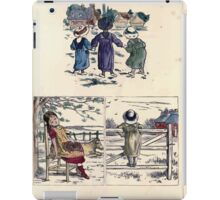 The Little Folks Painting book by George Weatherly and Kate Greenaway 0135 iPad Case/Skin