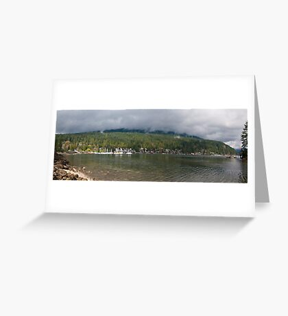Deep Cove Greeting Card