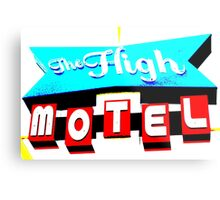 The High Motel. Metal Print