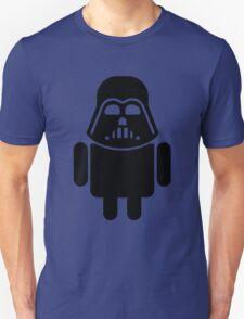 Darth Android Vader black T-Shirt