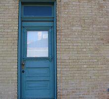 blue door by aminner
