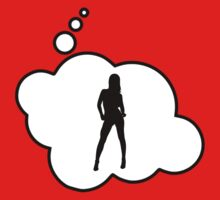 Female Silhouette by Bubble-Tees.com by Bubble-Tees