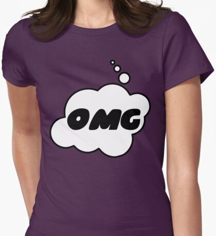 OMG by Bubble-Tees.com Womens Fitted T-Shirt