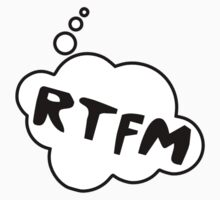 RTFM by Bubble-Tees.com Kids Clothes
