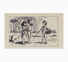Some Little People George Kringle & Kate Greenaway 1881 0031 Three Children One Piece - Short Sleeve