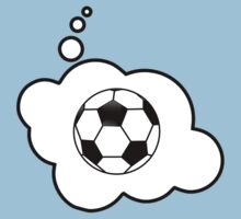 Soccer Ball by Bubble-Tees.com Baby Tee